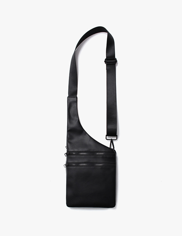 Buffing Leather 2 Way Waist Bag