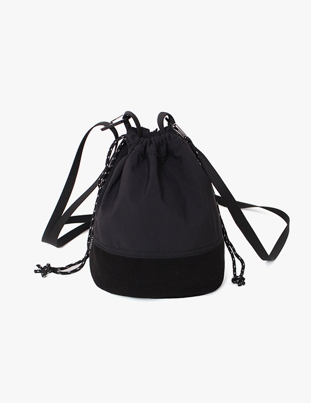 Fleece Mini BucketBag_Black