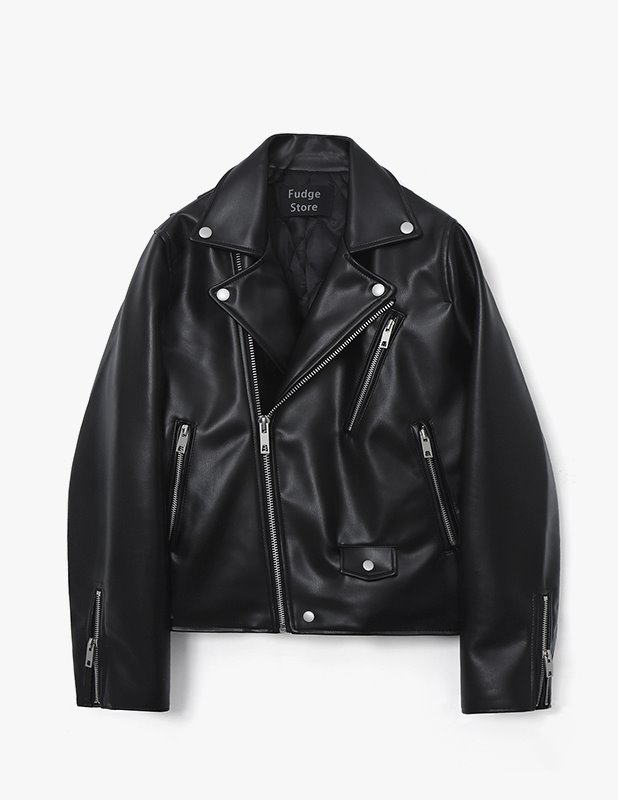 Buffing Leather Rider Jacket