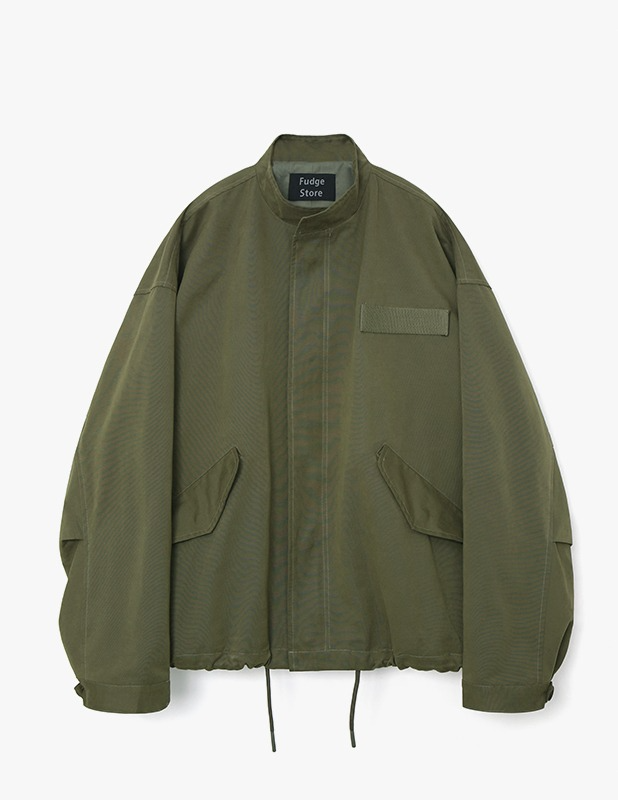 Broad Over Field Jacket_Olive Khaki