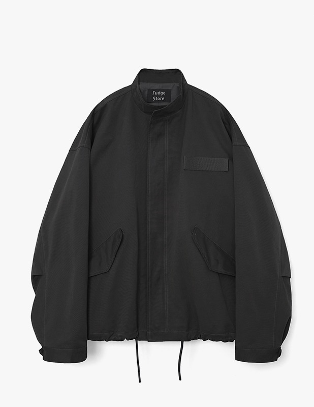 Broad Over Field Jacket_Black