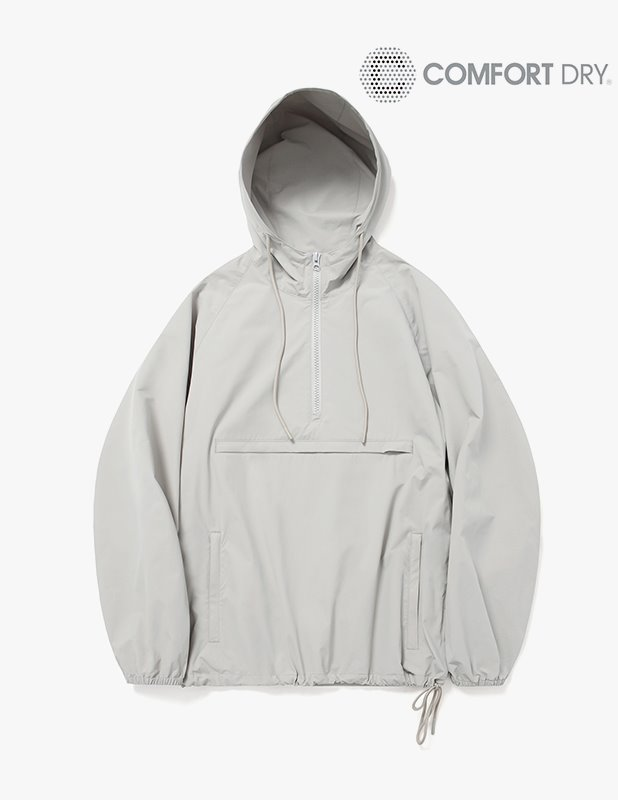 Ordinary Comfort  Half Open Over Anorak Hood_Neutral Gray