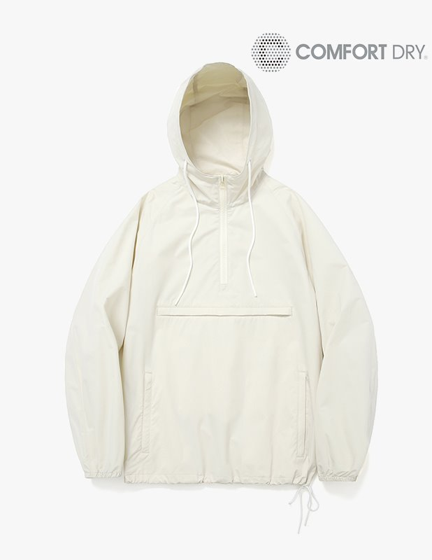 Ordinary Comfort  Half Open Over Anorak Hood_Cream