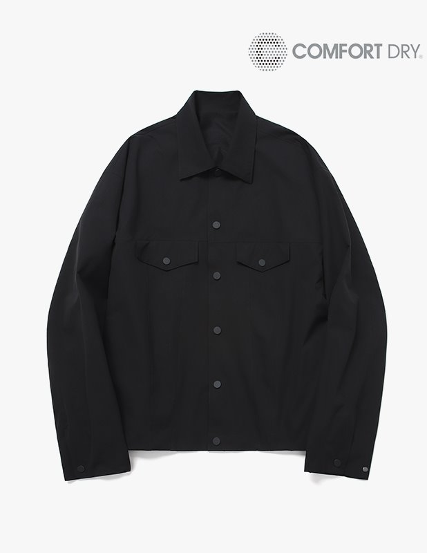 Ordinary Comfort Relax Trucker Jacket_Black