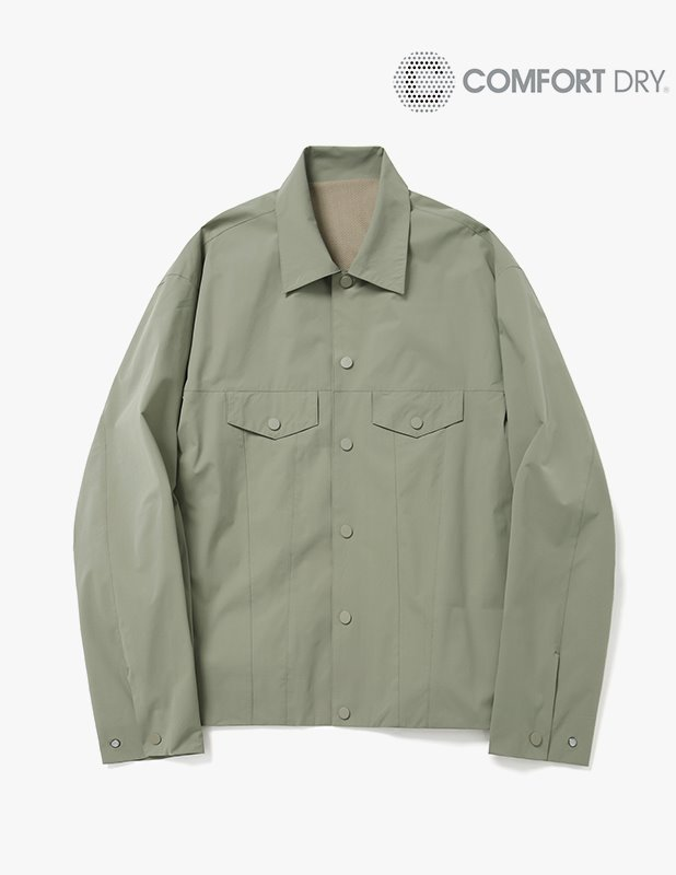 Ordinary Comfort Relax Trucker Jacket_Martine Olive