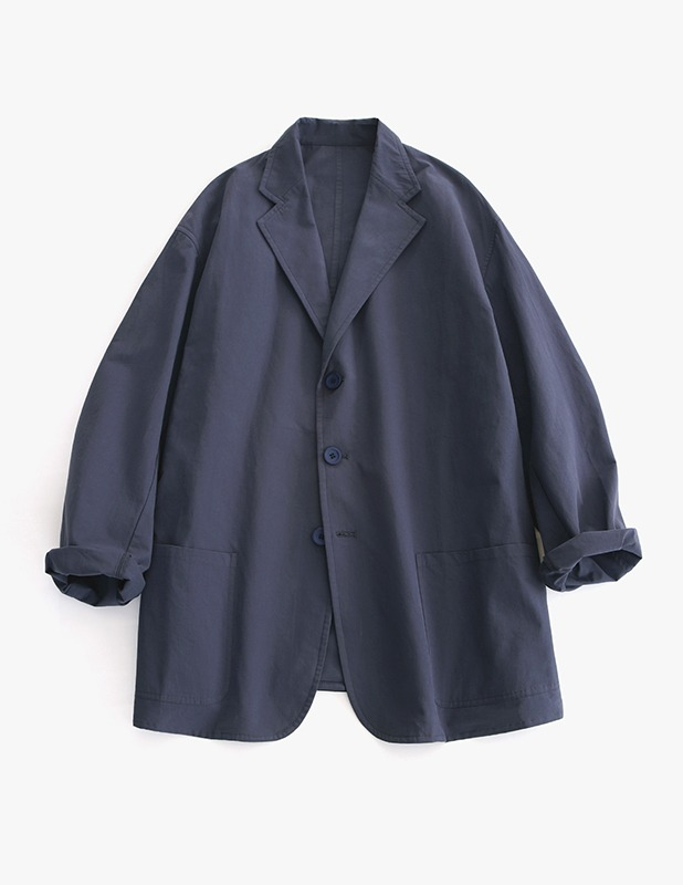 [여름원단]Classic Uncon Over Blazer_Light Navy
