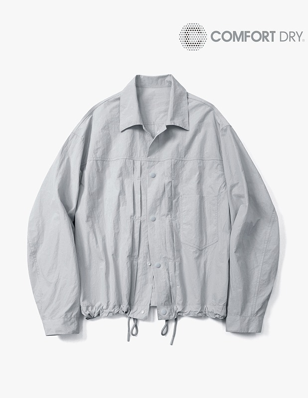 Ordinary Comfort Trucker Shirt Jacket_Light Gray