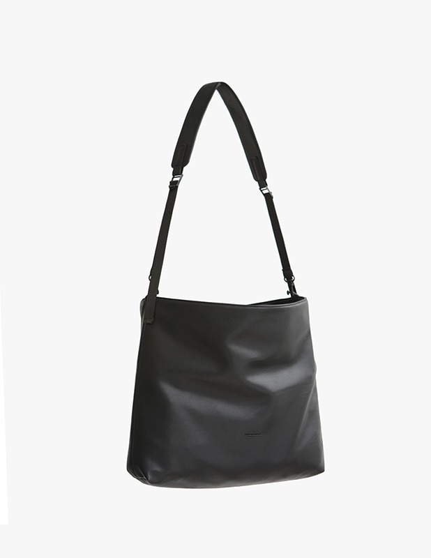 [5/14 예약발송]Buffing Leather Utility Shopper Bag_Black