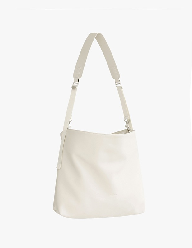 [5/14 예약발송]Buffing Leather Utility Shopper Bag_Cream