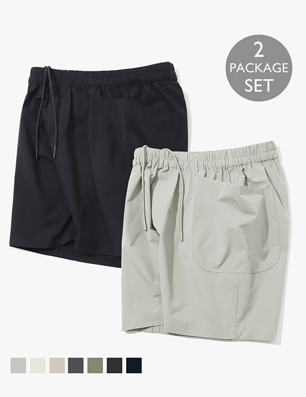 [PACKAGE]Ordinary Comfort Relax Shorts_7Color