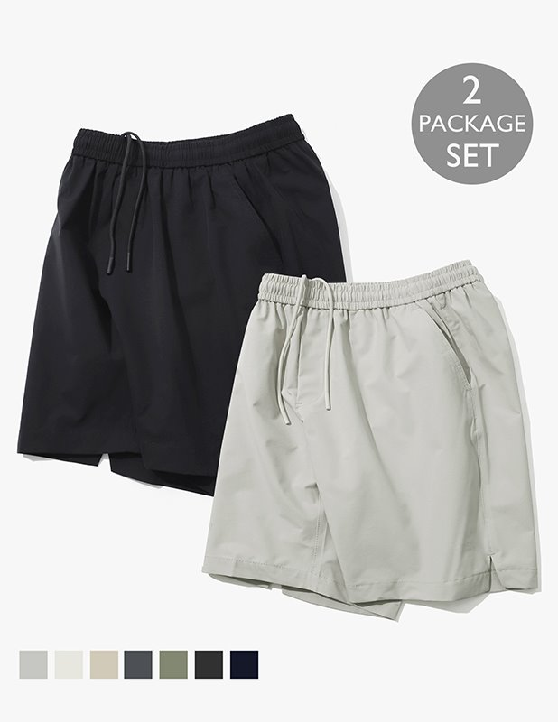 [PACKAGE]Ordinary Comfort Essential Shorts_7Color
