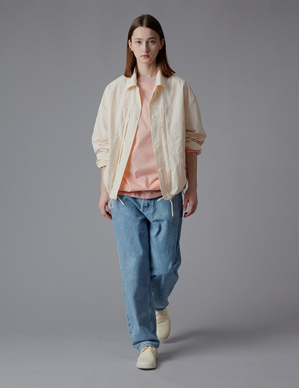 Ordinary Comfort Trucker Shirt Jacket_Cream